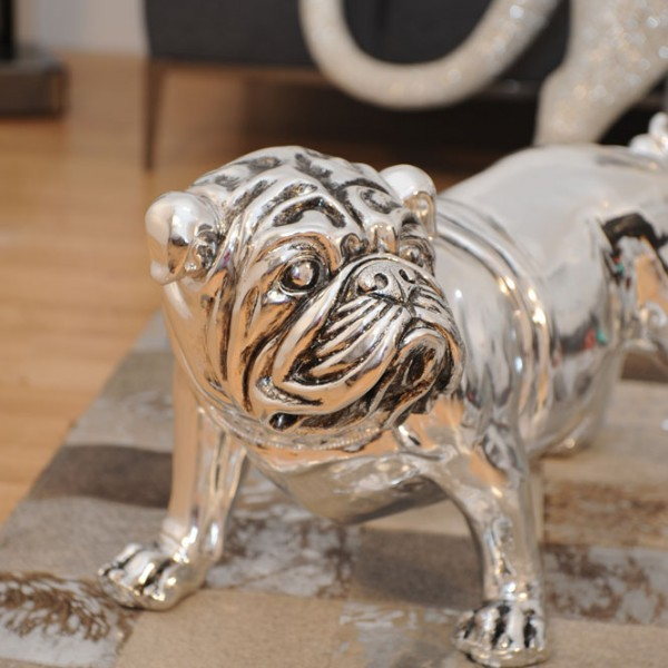 Bulldog argenté